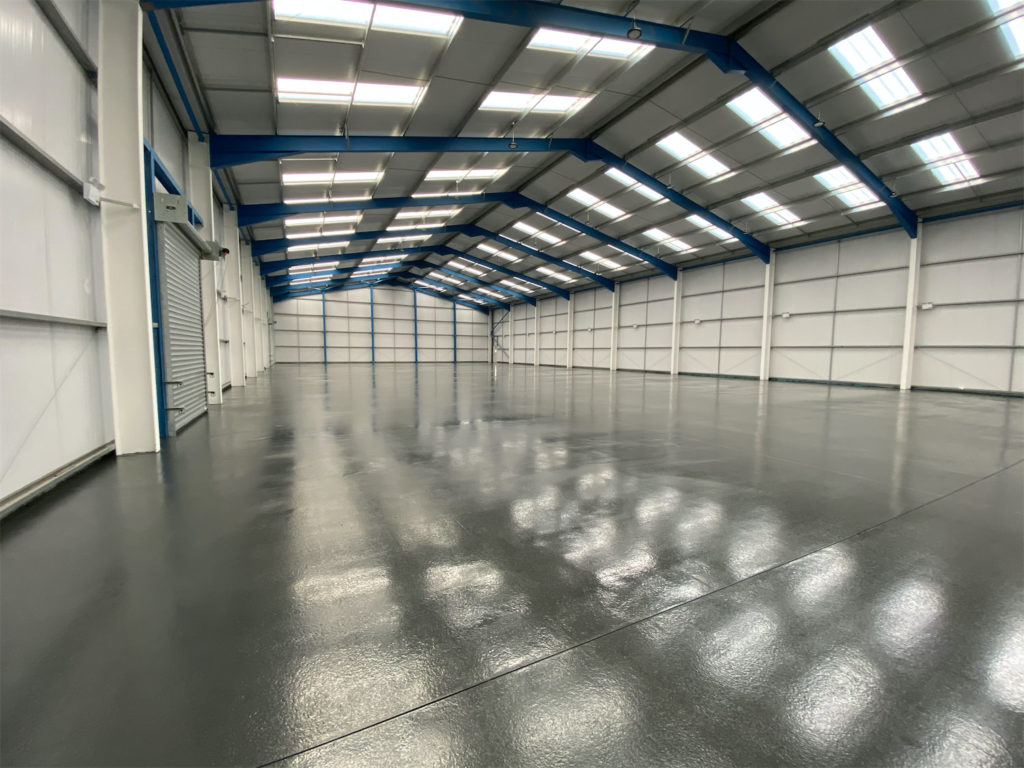 The main image for the project New Warehouse for Perfectos Inks